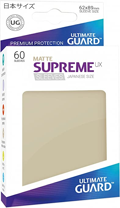 60 Piece Ultimate Guard Supreme Japanese UX Card Sleeves Matte Purple