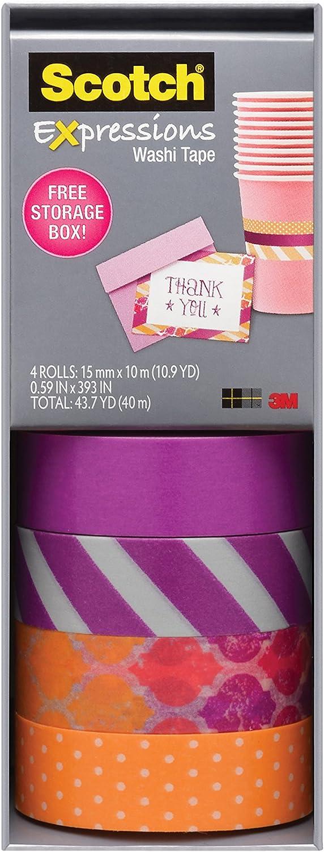 1 X 10m Roll Craft Washi Cinta Adhesiva 15mm-Lunares Metálico