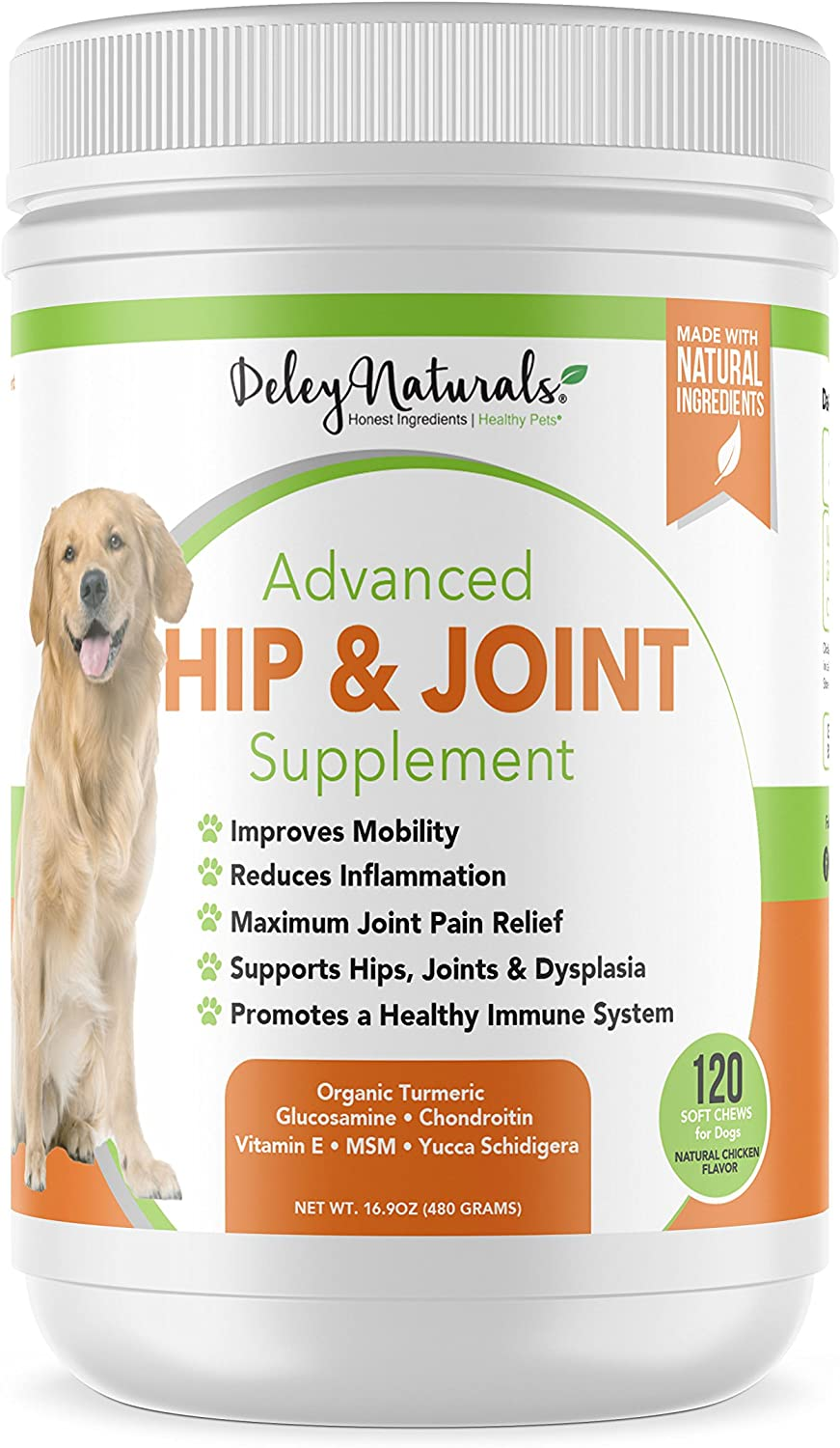 Deley Naturals Advanced Hip and Joint Support