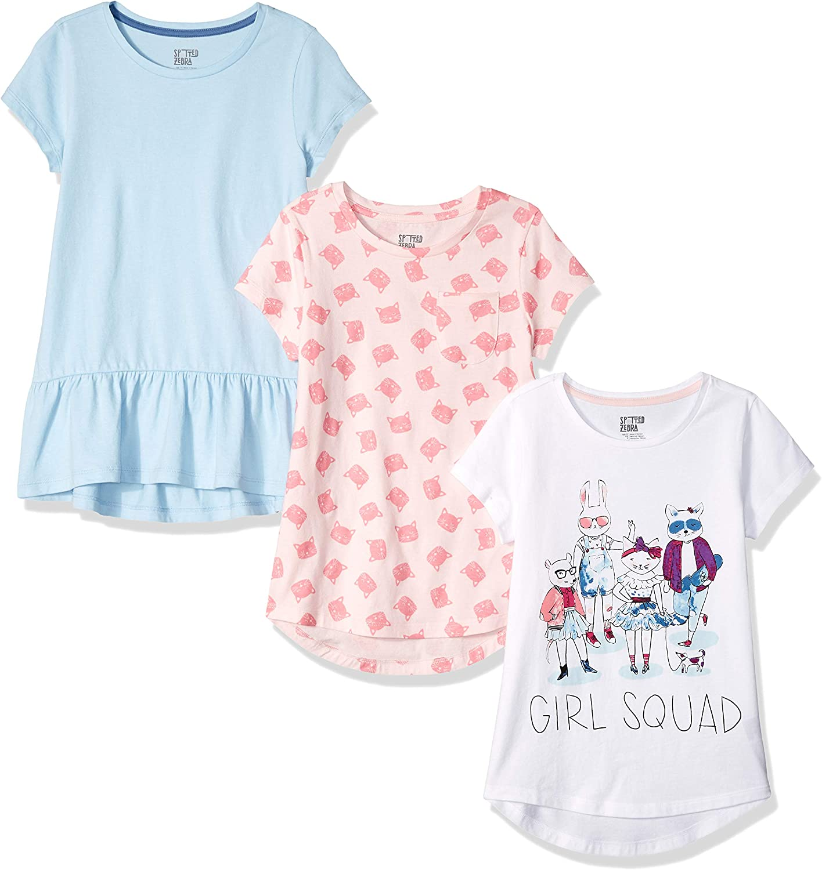 Spotted Zebra girls Short-Sleeve Tunic T-Shirts T-Shirt
