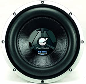 Planet Audio BB12D 12-Inch 1200 Watts 4-OHM Dual Voice Coils Max Power Handling DVC Subwoofer