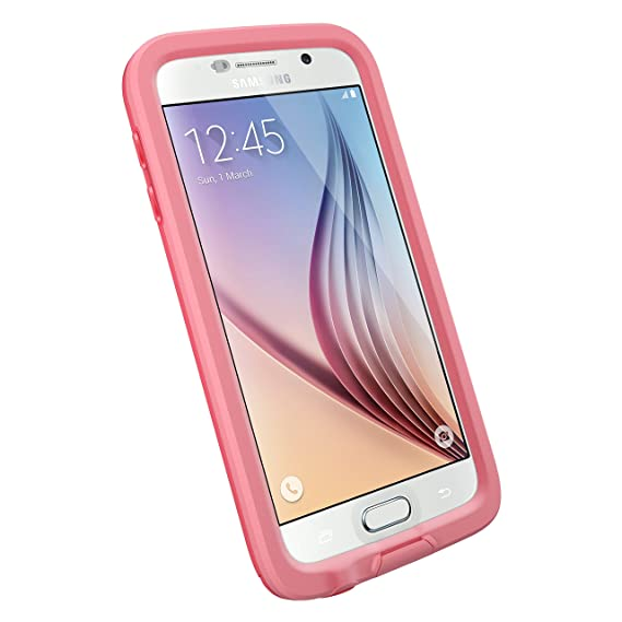 brand new eda1f a618a LifeProof FRĒ SERIES Waterproof Case for Samsung Galaxy S6 - Retail  Packaging - CUTBACK CORAL (CORAL/CANDY PINK)