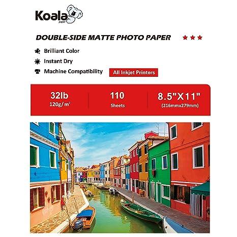 Amazon.com: KOALA Mate papel fotográfico: Office Products