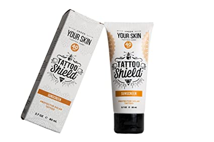 Crema Solar Protector Solar Especifico Para Tattoo Especialmente