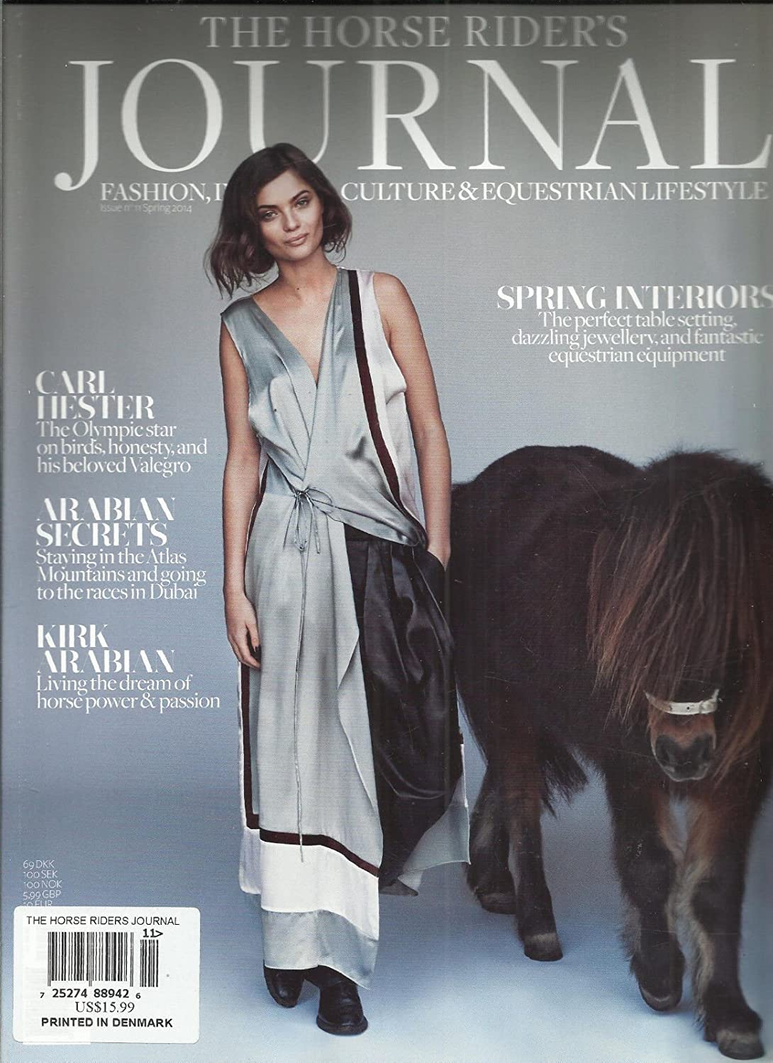 Amazon Com The Horse Rider S Journal Spring 2014 Fashion Interior Culture Life Sty Everything Else
