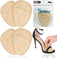Metatarsal Pads | Metatarsal Pads for Women | Ball of Foot Cushions (2 Pairs Foot Pads) All Day Pain Relief and Comfort One