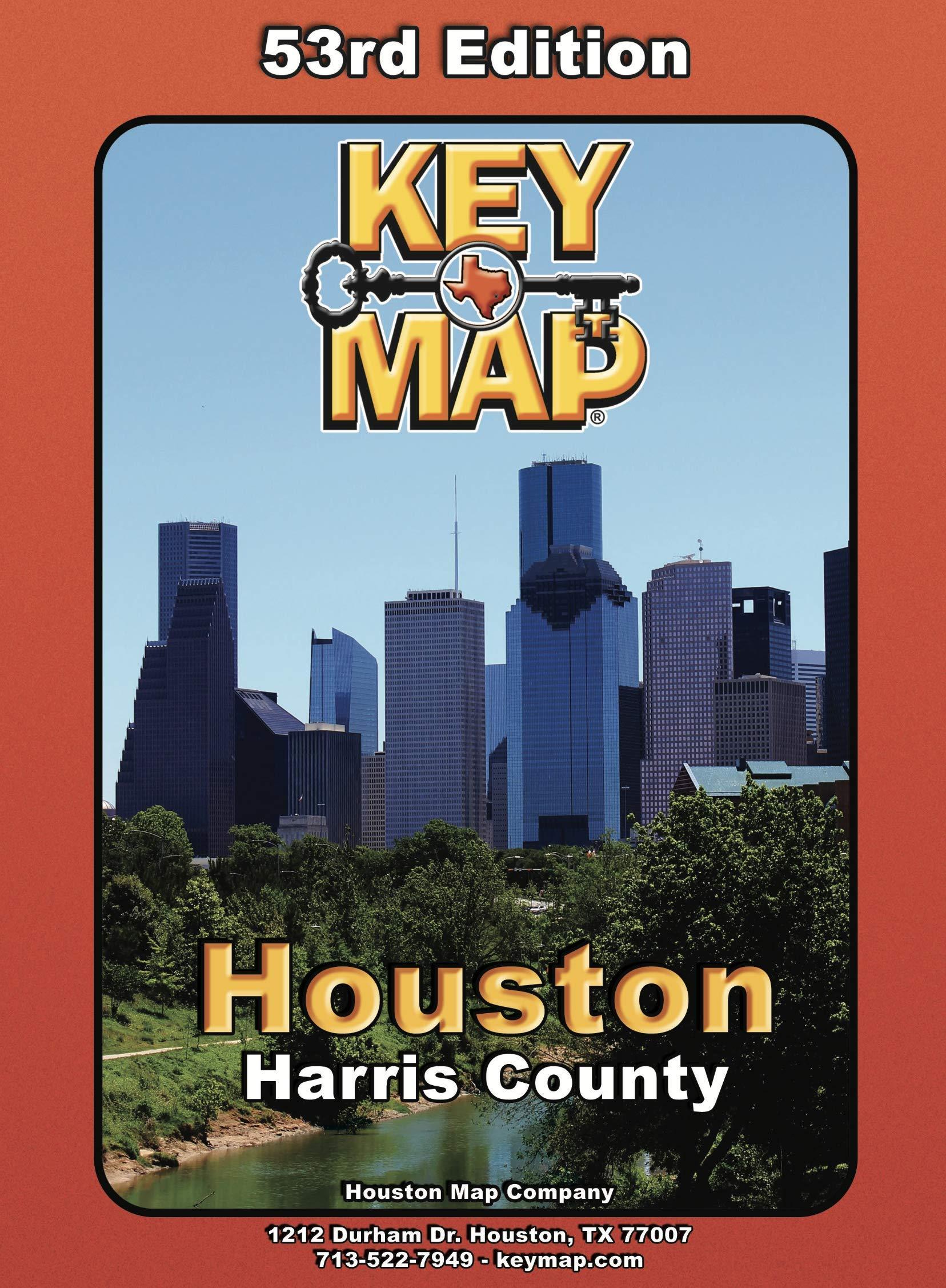 Key Maps Harris County - 53rd Edition