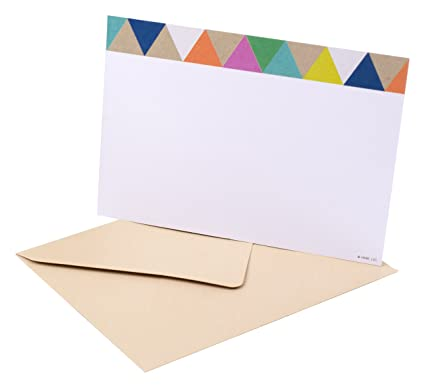amazon com hallmark blank note cards with envelopes stationery box