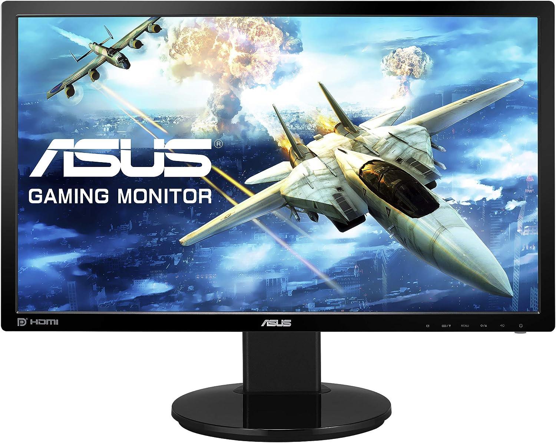 ASUS VG248QZ 24? Gaming Monitor 144Hz Full HD 1080p 1ms DP HDMI DVI Eye Care, Black