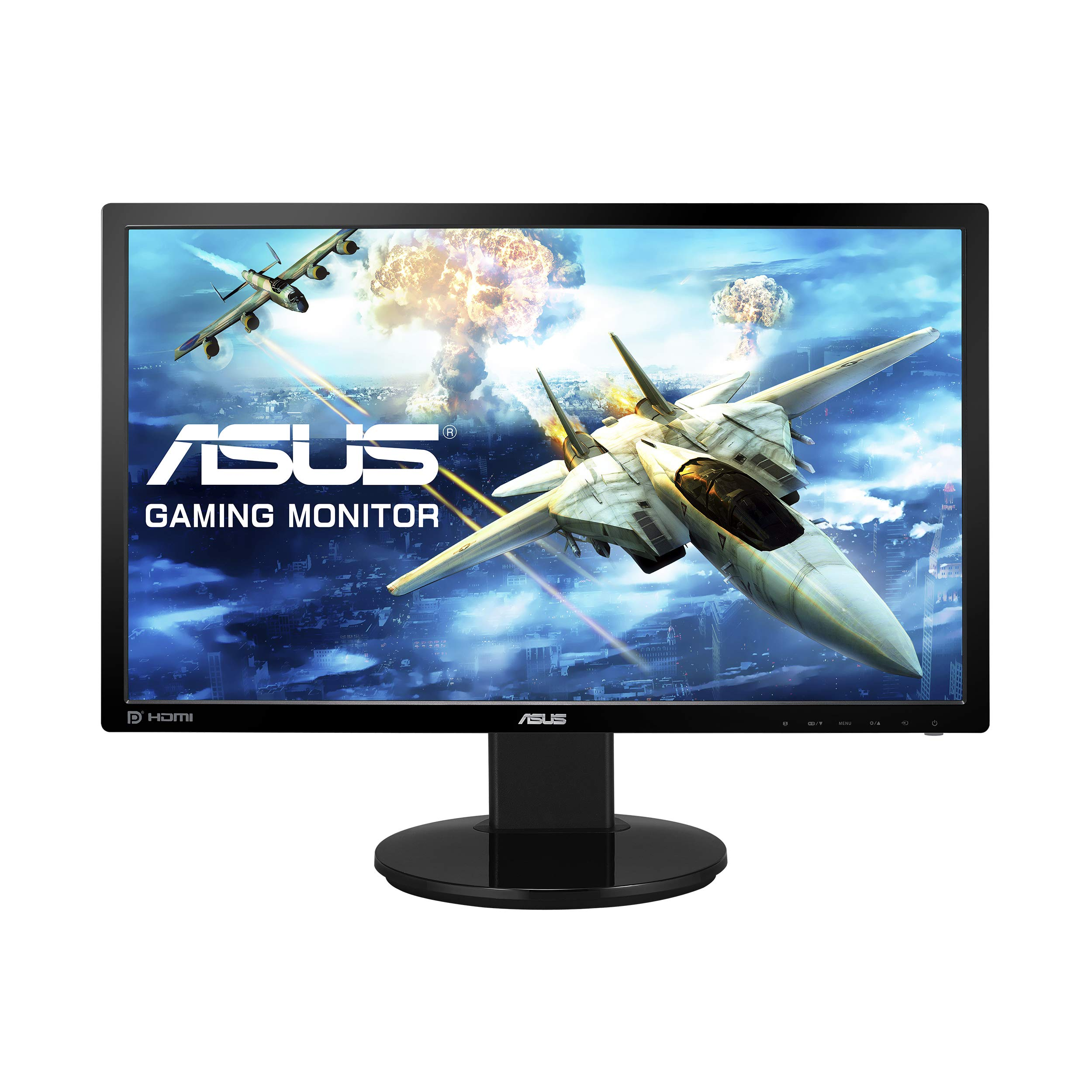 ASUS VG248QZ 24? Monitor para juegos 144Hz Full HD 1080p 1ms DP HDMI DVI Eye Care, Negro