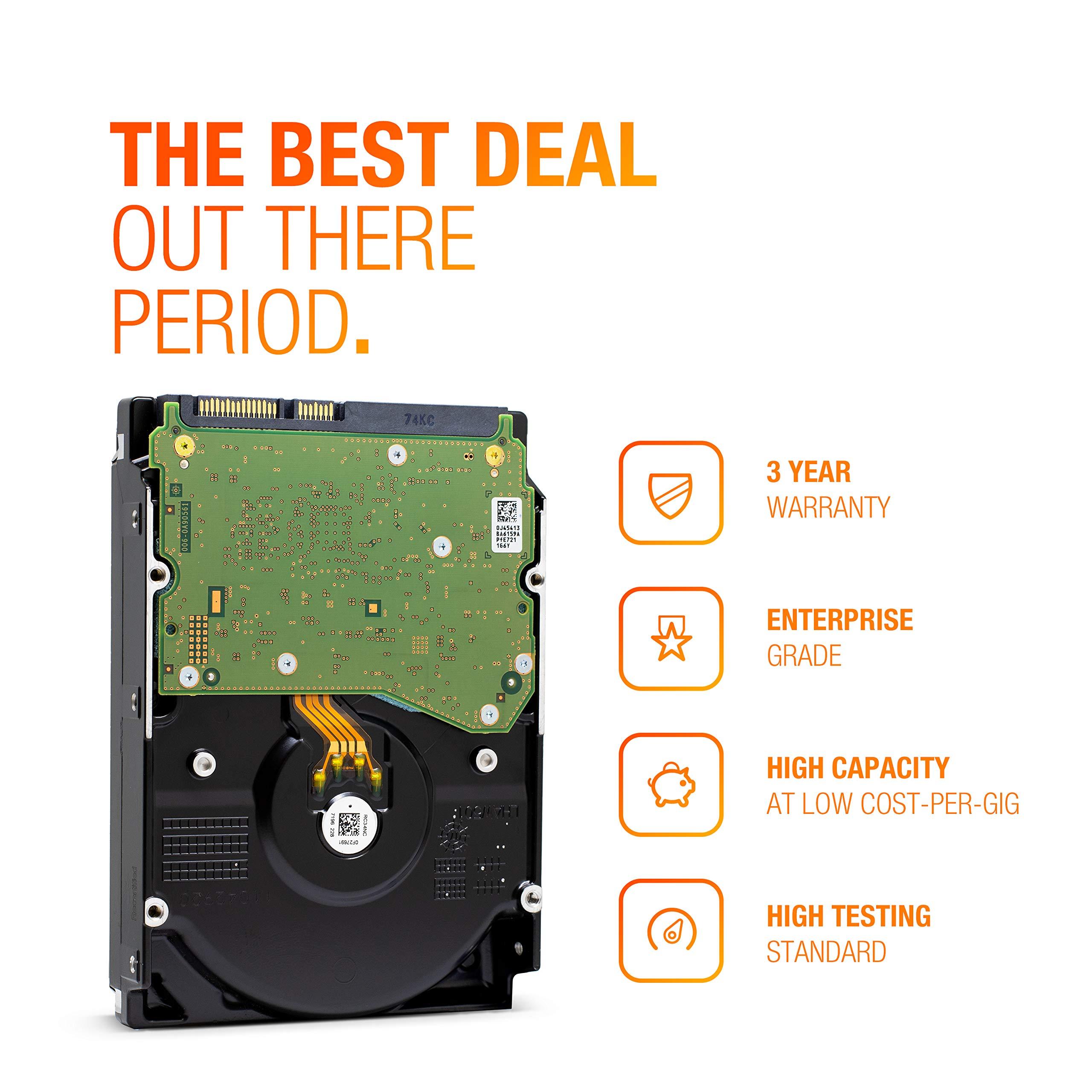 HGST Ultrastar He10 | HUH721010ALE600| 0F27452 | 512e | 10TB SATA 6.0Gb/s 7200 RPM 256MB Cache 3.5in | Enterprise Hard Drive HDD,  (Renewed) by HGST (Image #7)