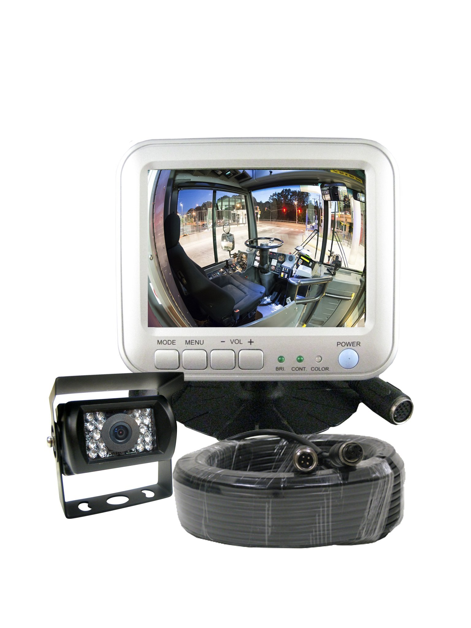 5'' LCD Color Rear View Backup Camera System for RVs, Motorhomes, Trucks, Vans & Commercial Vehicles