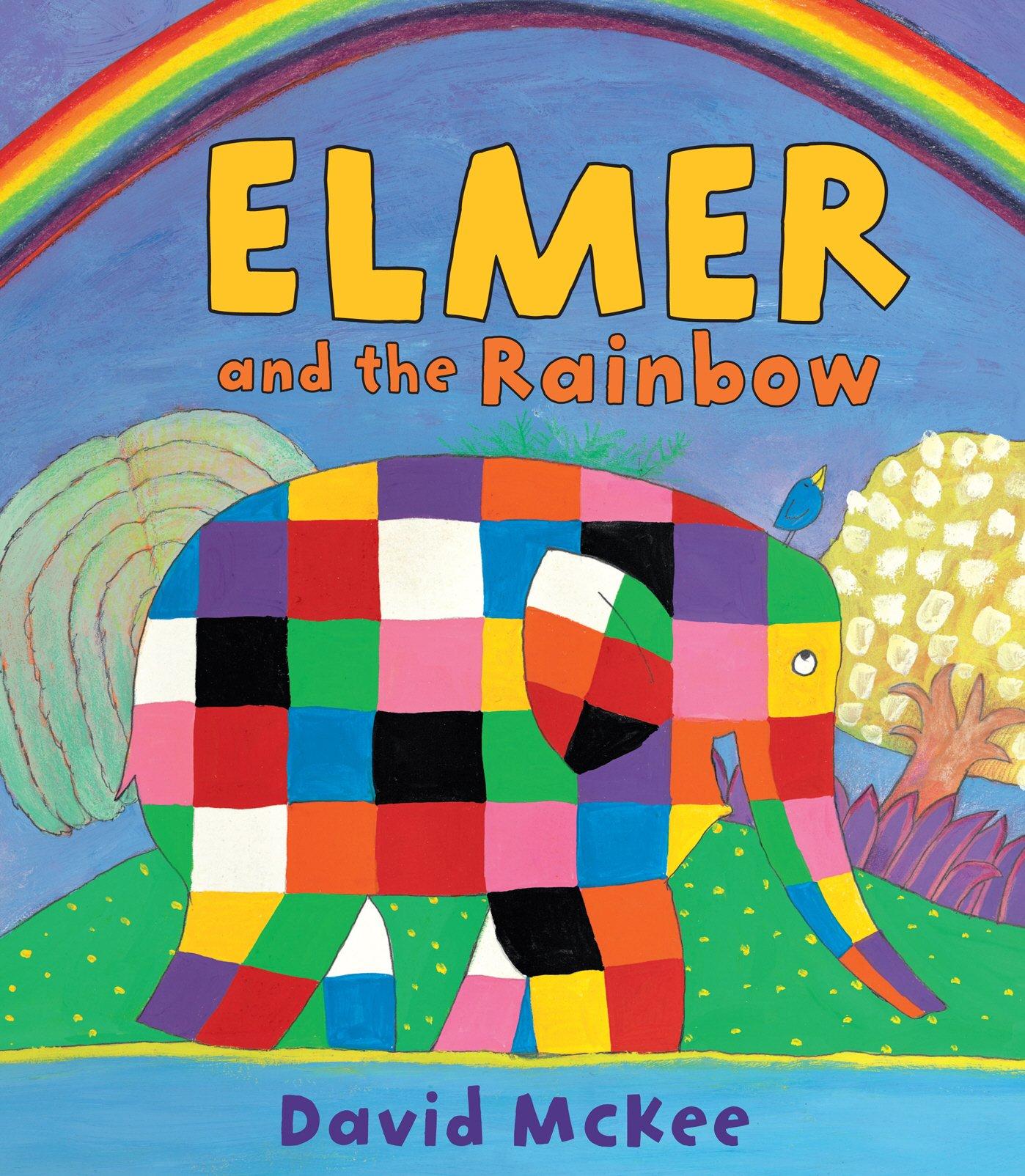 amazon elmer and the rainbow elmer picture books david mckee