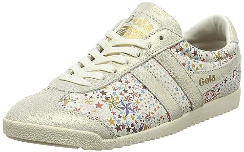 Gola Bullet Liberty AD Off White, Zapatillas para Mujer: Amazon.es: Zapatos y complementos