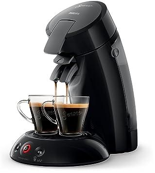 Senseo Original HD6554/60 - Cafetera (Independiente, Máquina de café en cápsulas, 0,7 L, Cápsula de café, 1450 W, Negro): Amazon.es: Hogar