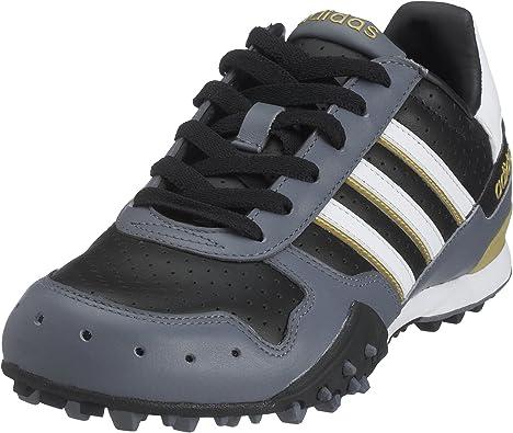 adidas X de Country Lifestyle Hombre Zapatillas de Deporte, Black/Wht/mtgold, Color Negro, Talla 46 2/3 EU: Amazon.es: Zapatos y complementos