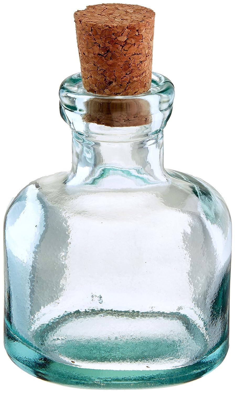 3d407ad0e594 Amazon.com: Couronne Company G5323 Orbit Glass Bottle 3.5 oz Clear ...