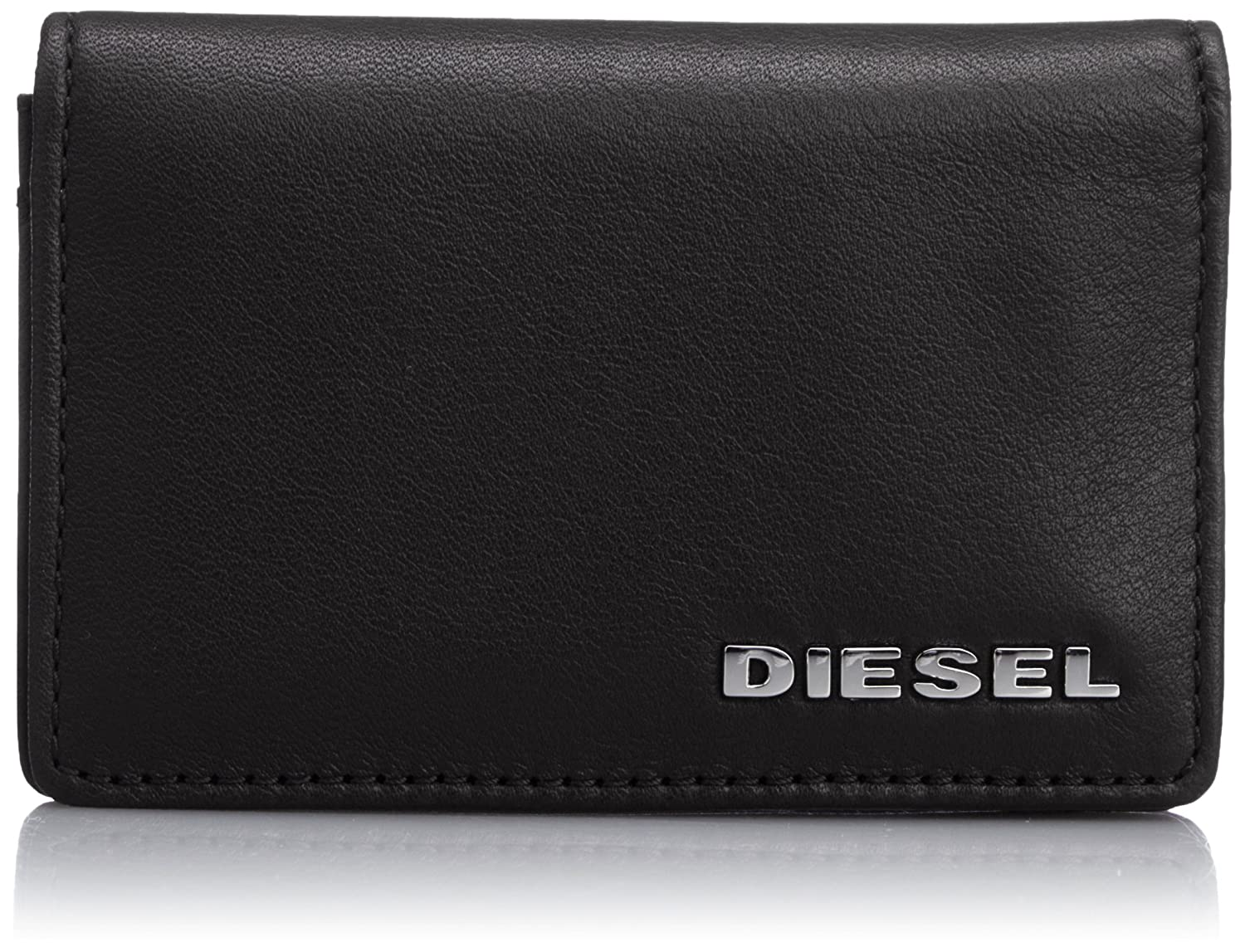 Diesel Hombre Dukez Card Holder Wallet, Negro, One Size ...
