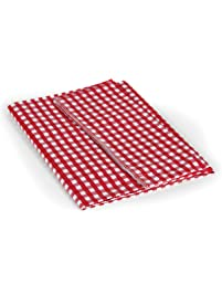 "Camco 51019 Tablecloth Red/White 52"" X 84"""