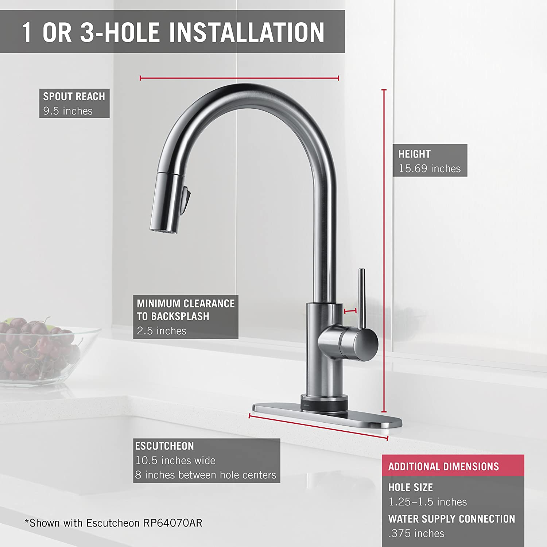 Großzügig Küche Delta Wasserhahn Reparatursatz Bilder - Küchen ...
