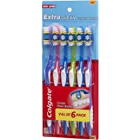 3-Pack Colgate Extra Clean Full Head Toothbrush (6 Count) + $5 Gift Card