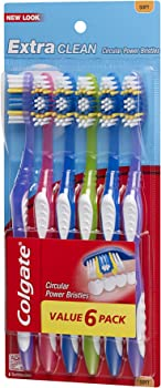 6-Pack Colgate Extra Clean Full Head Toothbrush