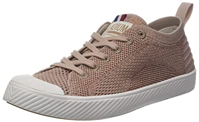 Womens Pallaphoenix Knit Mixte Trainers, Pink Palladium