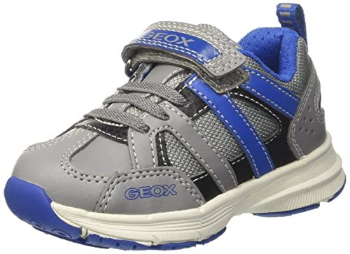 Geox J Top Fly B, Zapatillas para Niños, Azul (Navy), 33 EU