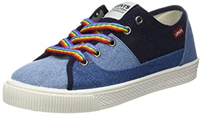 1a82f01902684 Levi s Levis Footwear and Accessories Malibu S, Baskets Femmes, Bleu (Navy  Blue 17