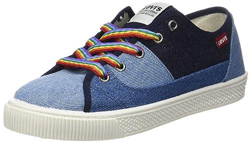 Levis Footwear and Accessories Malibu S, Zapatillas para Mujer, Azul (Navy Blue 17