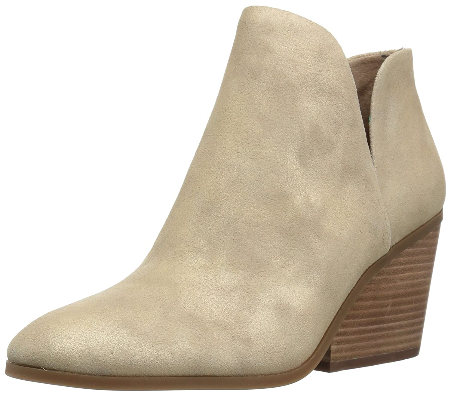 Lucky Brand Women's Lezzlee Ankle Boot B0747JFFJS 5.5 M US|Travertine