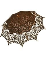 Remedios(19 colors) Vintage Bridal Wedding Party Cotton Lace Parasol Umbrella