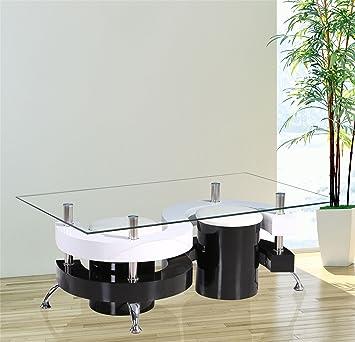Amazon.de: GR8 Home Holz Modern S Form Curve Design, rechteckig ...