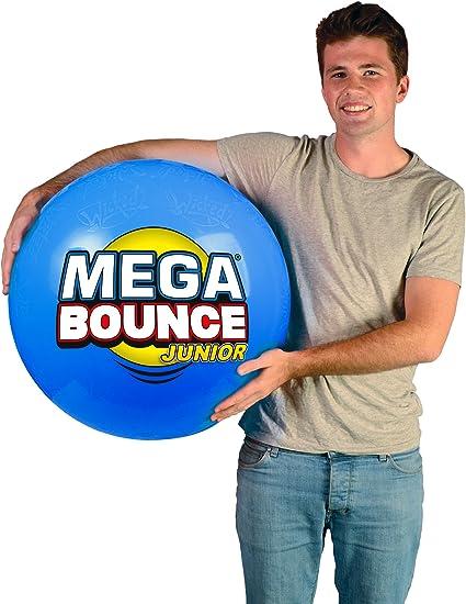 """Wicked Visión Mega Bounce XL 31/"""" diámetro Inflable Hinchable Bola y bomba de pie"""