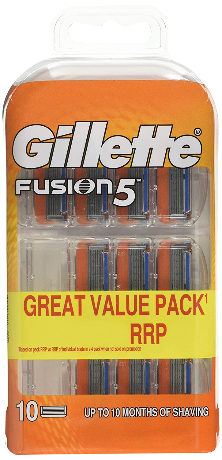 Gillette Fusion Razor Blades for Men, 4 Refills, Packaging May Vary Procter & Gamble 81307472