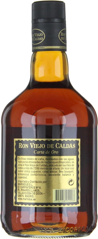 Ron Viejo de Caldas 8 años (1 x 0,7 l): Amazon.es ...