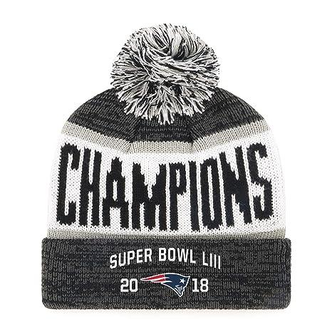 1cfe4ae0 OTS NFL New England Patriots Super Bowl LIII Champions Cuff Knit