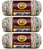 Bulk Buy: Lion Brand Homespun Yarn (3-Pack) Tudor 790-315