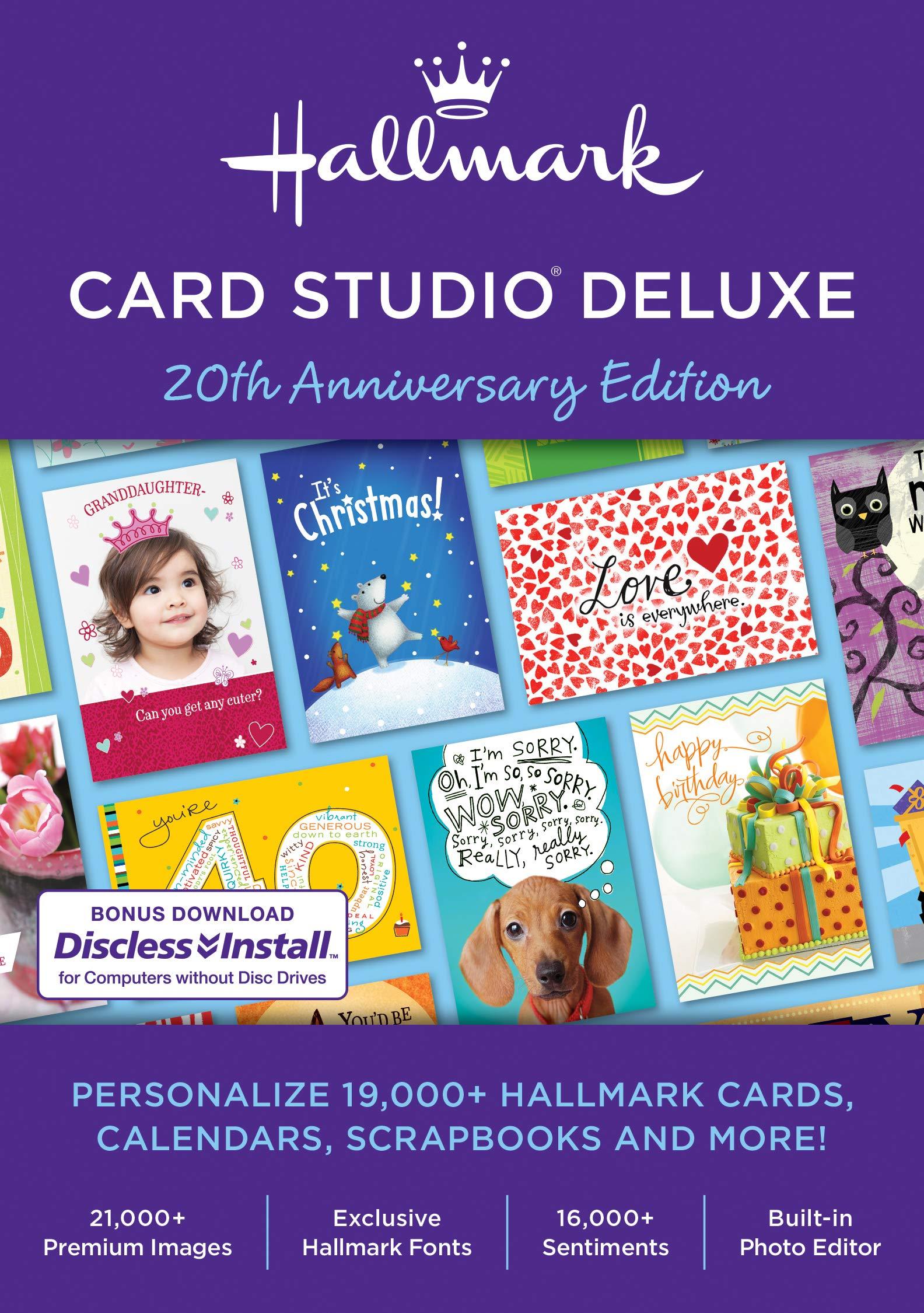 Hallmark Card Studio Deluxe 2019 [PC Download] by Nova Development US