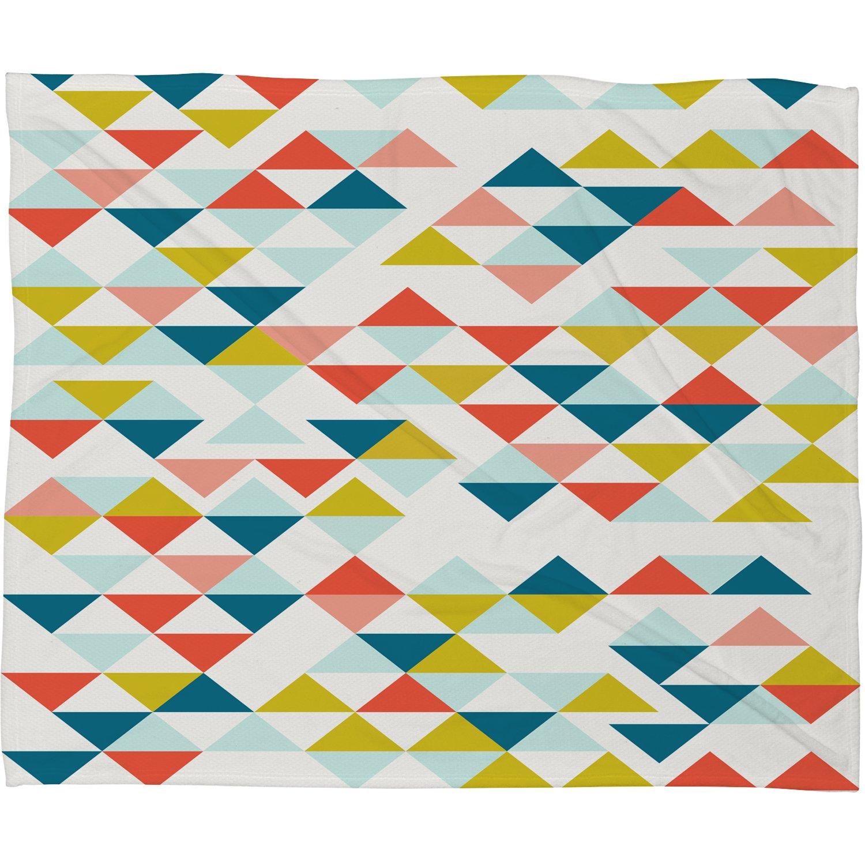 Deny Designs Hello Twiggs Columbia Fleece Blanket