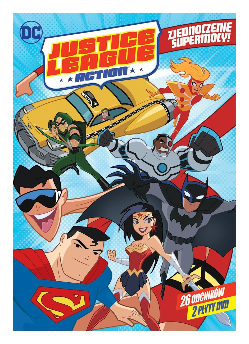 DC Justice League Action Season 1 episodes 1-26 2DVD IMPORT ...