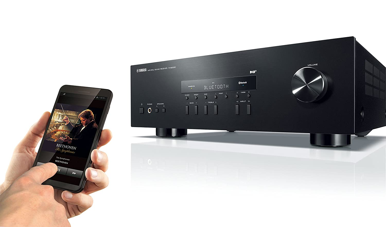 Invio musica streaming da Smartphone - Yamaha R-S202D Bluetooth