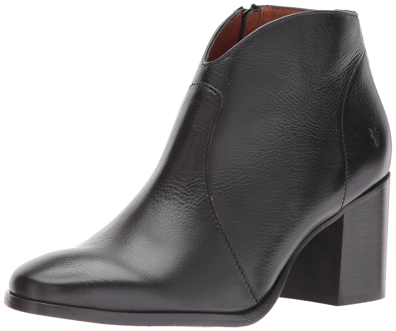 FRYE Women's Nora Short Inside Zip Boot B01MQZ6VTX 7 B(M) US|Black Soft Full Grain