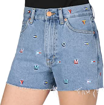 Tommy Hilfiger Short for Women, Light Blue, Size