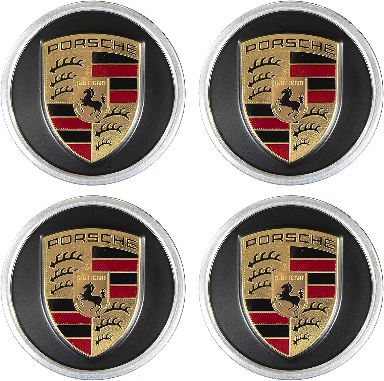 Porsche Neu Orig Taycan Radzierdeckel Satz 4 Stück Schwarz 19 20 21 Räder Auto