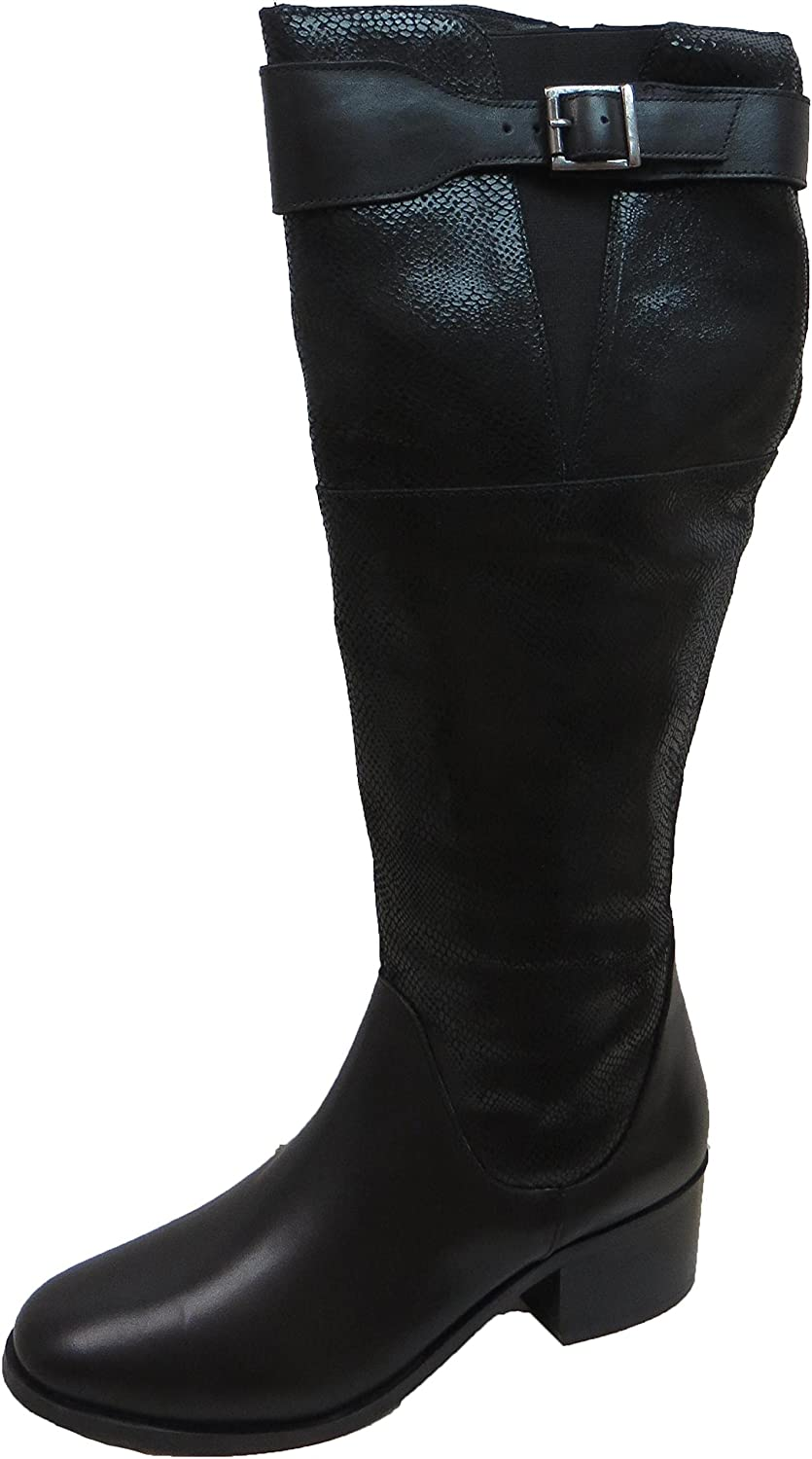 0832e912104 Ravel Women s Gordo Leather Knee High Boots  Amazon.co.uk  Shoes   Bags