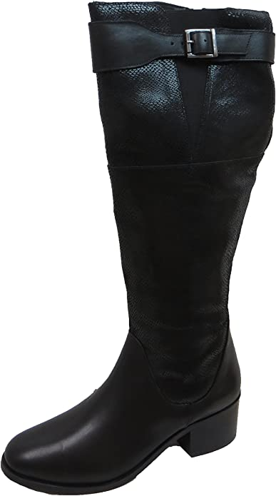 4f1eae0c36f Ravel Women s Gordo Leather Knee High Boots  Amazon.co.uk  Shoes   Bags