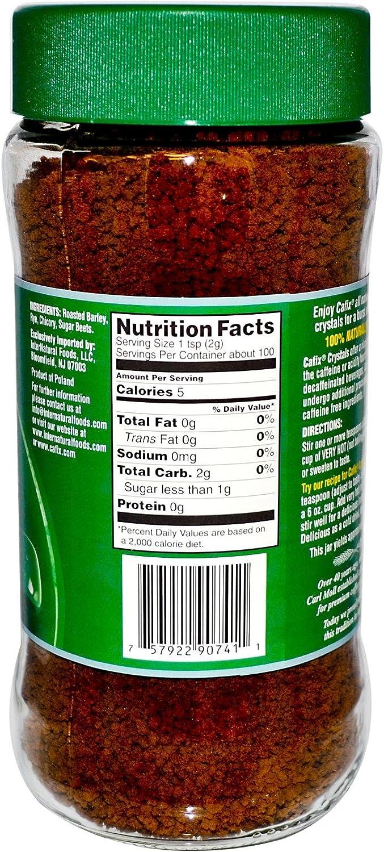 Cafix All Natural Instant Beverage Crystals - 7 oz