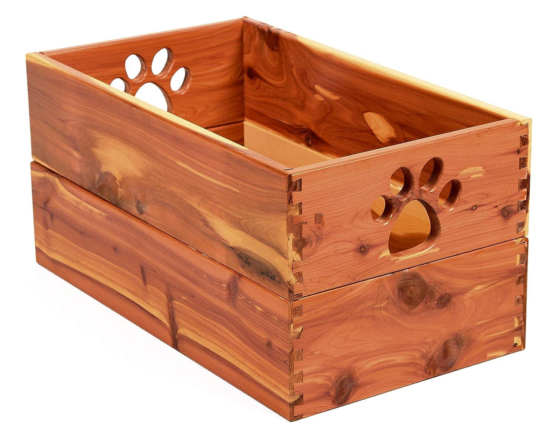 Cedar large Cedar large Amish Handcrafted Pet Toy Box Cedar