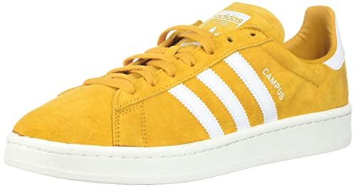 finest selection 9157d 4bdc6 Adidas ORIGINALS Men s Campus Sneaker, Tactile Yellow Chalk White, ...